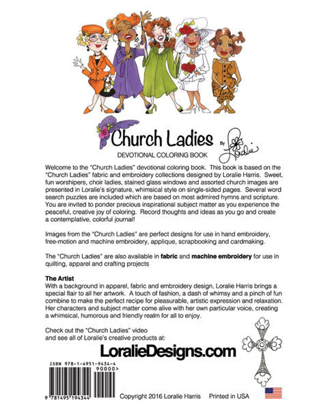 Church Ladies Devotional Coloring Book