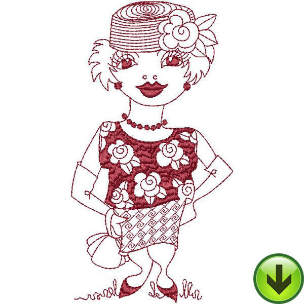 Betty Embroidery Design | DOWNLOAD