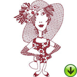 Redheads 1 Machine Embroidery Collection | Download