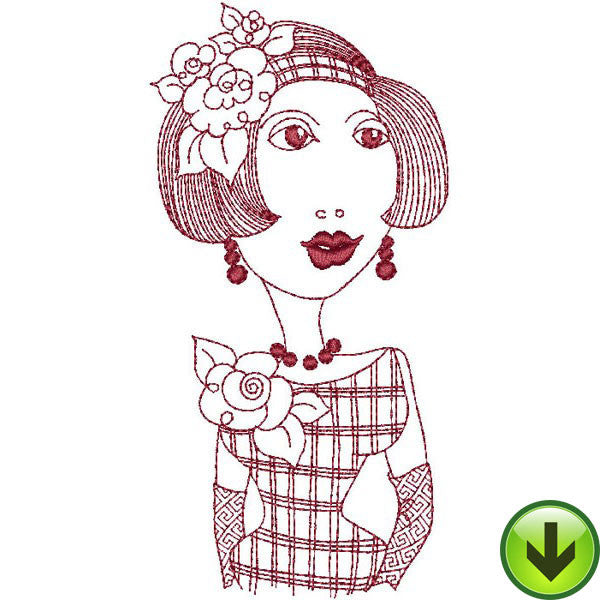 Valerie Embroidery Design | DOWNLOAD