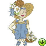 Fun Ladies Machine Embroidery Collection | Download