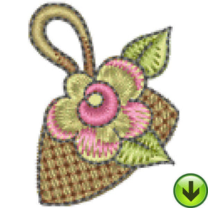 Petal Power Hand Bag Embroidery Design | DOWNLOAD