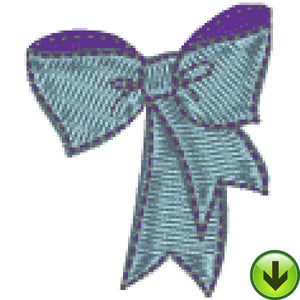 Petal Power Solid Bow Embroidery Design | DOWNLOAD