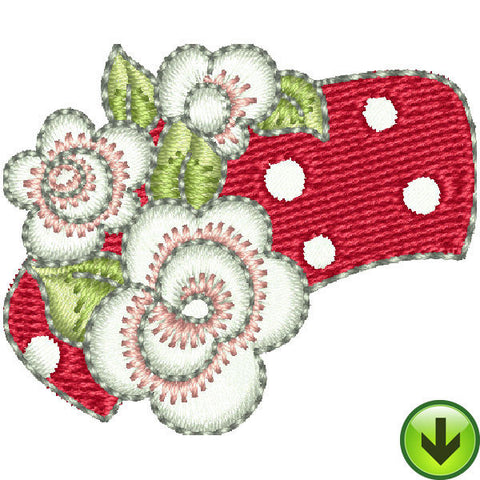 Pincushion Lady Hat Embroidery Design | DOWNLOAD
