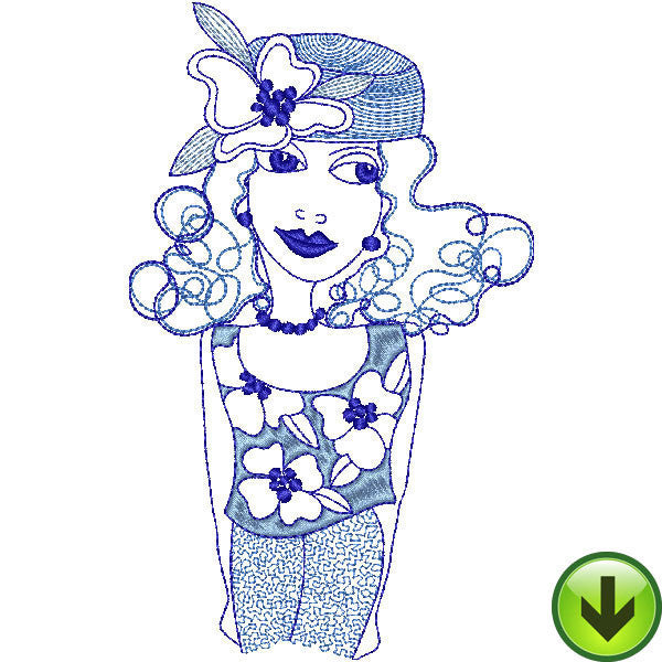 Lottie Embroidery Design | DOWNLOAD