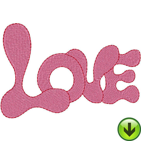 Love Embroidery Design | DOWNLOAD