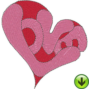 Love Heart Embroidery Design | DOWNLOAD