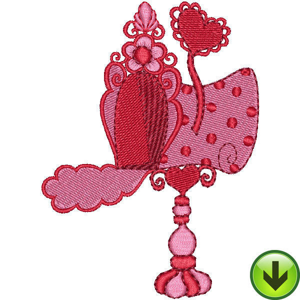 Mailbox Embroidery Design | DOWNLOAD