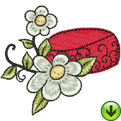 Sew Flamboyant Hat Embroidery Design | DOWNLOAD