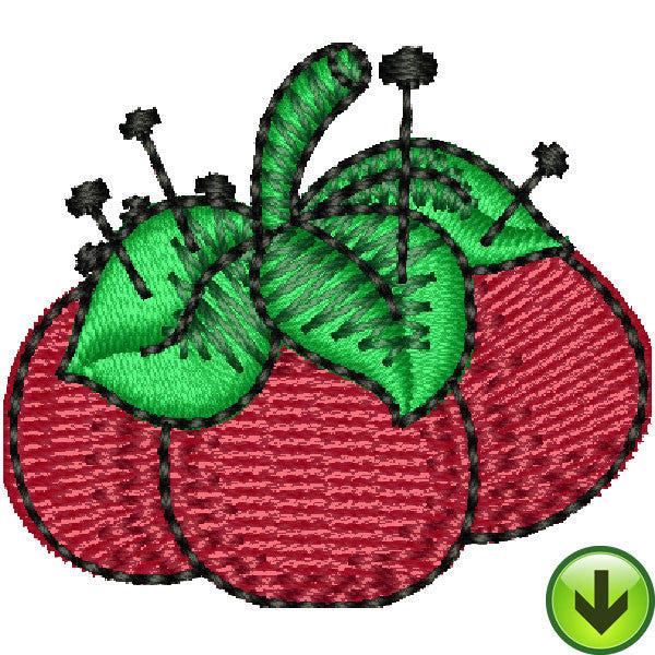 Sew Flamboyant Pincushion Embroidery Design | DOWNLOAD