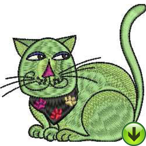 Cool Cats Embroidery Machine Design Collection | Download