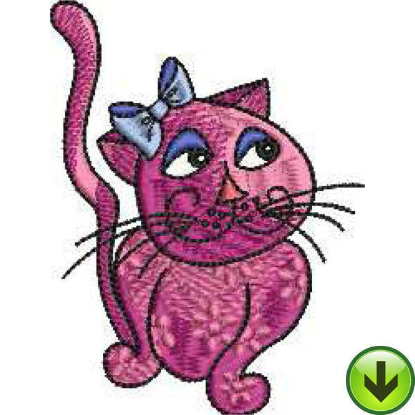 Cool Cats Embroidery Machine Design Collection