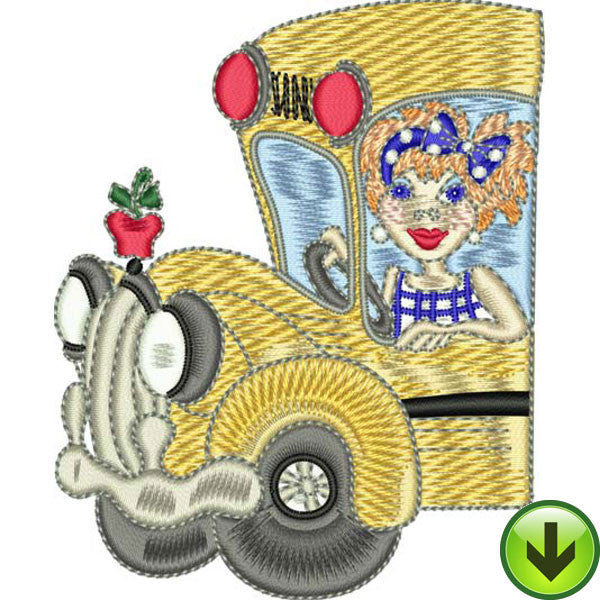 Teachers Machine Embroidery Collection | Download