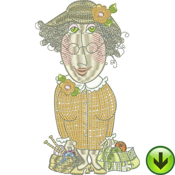 Agnes Machine Embroidery Design | Download