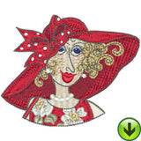 Fun Ladies Mugshots Machine Embroidery Collection | Download