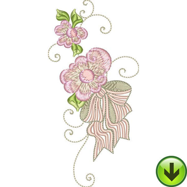 Love in Bloom Embroidery Design | DOWNLOAD