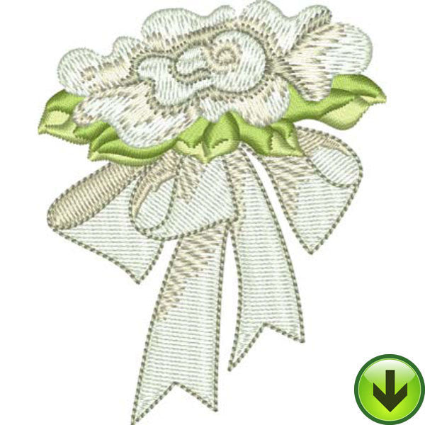 Marry Me Embroidery Design | DOWNLOAD