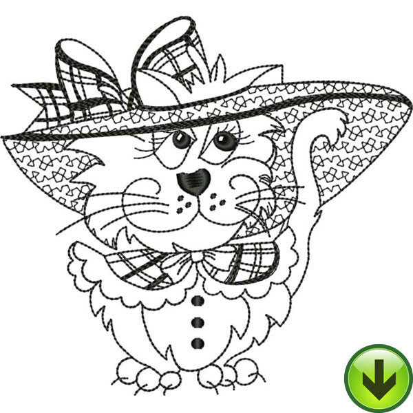 Doris Embroidery Design | DOWNLOAD