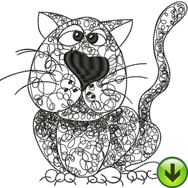 Percy Embroidery Design | DOWNLOAD