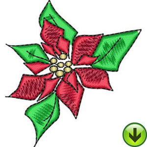 Poinsettis Embroidery Design | DOWNLOAD