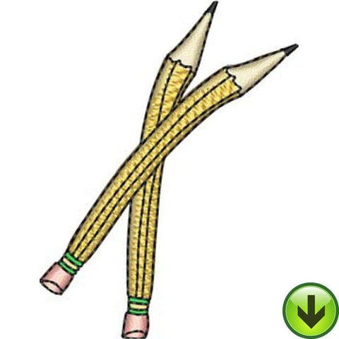 Pencil Friends Embroidery Design | DOWNLOAD