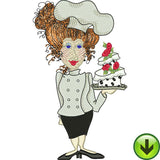 Fun Chefs Machine Embroidery Collection | Download