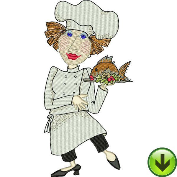 Fun Chefs Embroidery Design Collection | Download