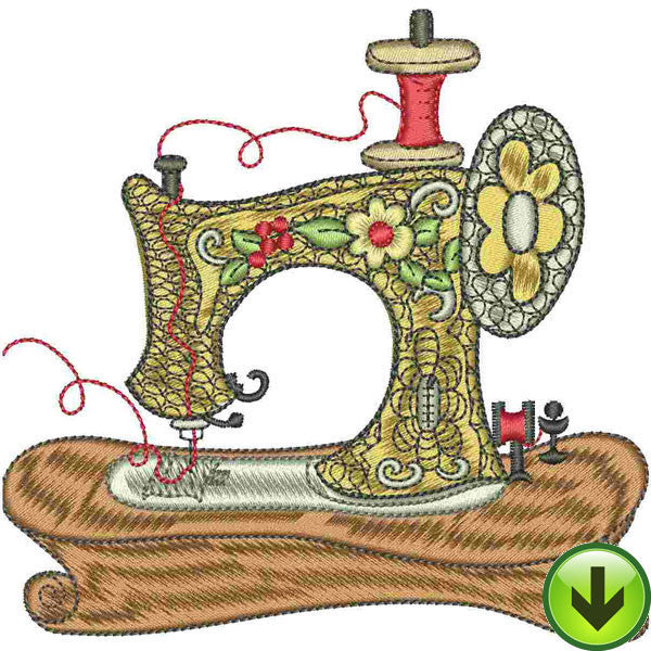 Grandma's Machine Embroidery Design | DOWNLOAD