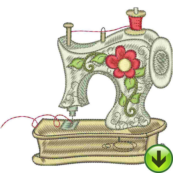 Sew Cute Embroidery Design | DOWNLOAD