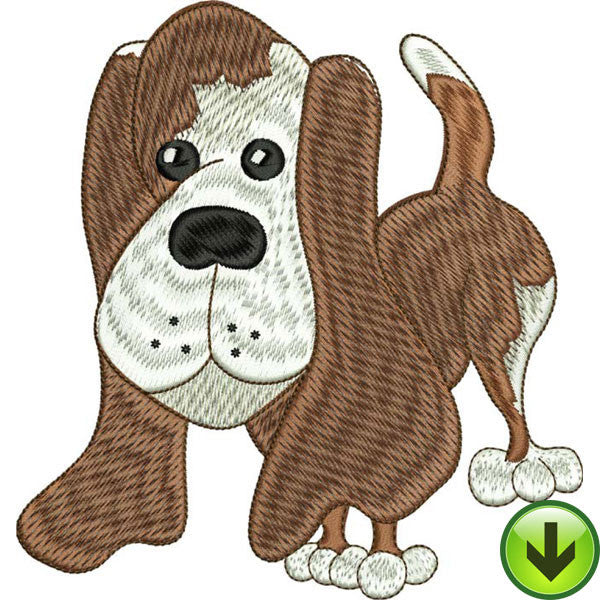 Rusty Embroidery Design | DOWNLOAD