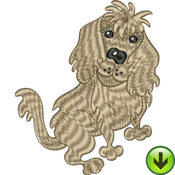 Doggie Delight 2 Embroidery Design Collection | Download