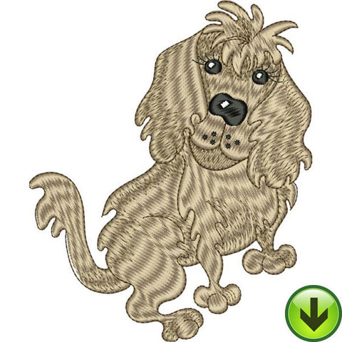 Goldie Embroidery Design | DOWNLOAD