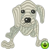 Doggie Delight 2 Machine Embroidery Design Collection | Download