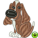Doggie Delight 4 Machine Embroidery Design Collection | Download