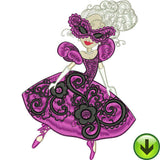 Masquerade Ball 1 Machine Embroidery Collection | Download