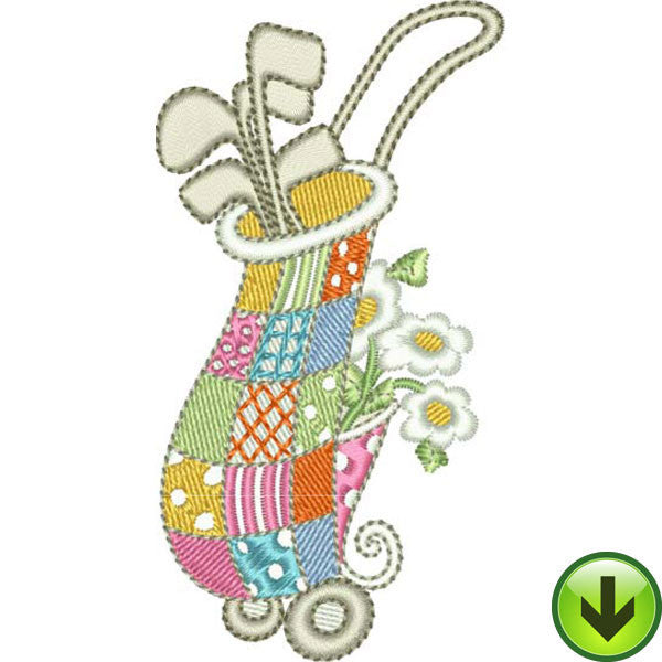 Designer Bag Embroidery Design | DOWNLOAD