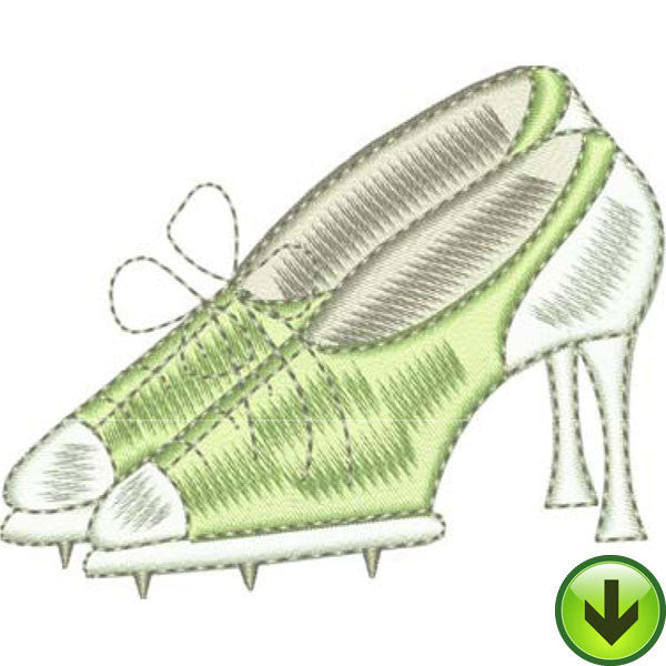 You Golf Girl! 3 Embroidery Machine Design Collection