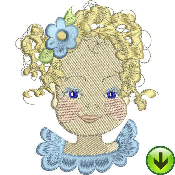 Cassie Embroidery Design | DOWNLOAD