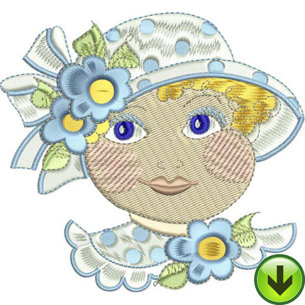 Molly Embroidery Design | DOWNLOAD