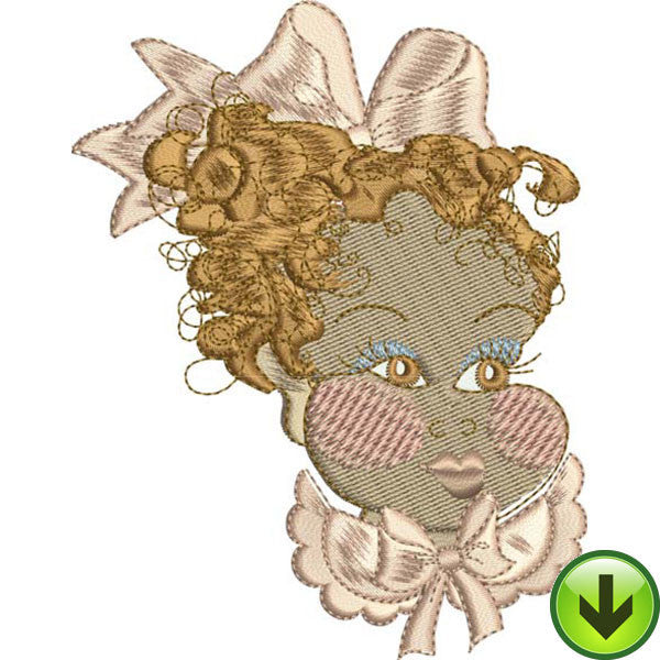 Baby Face 1 Embroidery Machine Design Collection