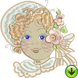 Baby Face 1 Machine Embroidery Collection | Download