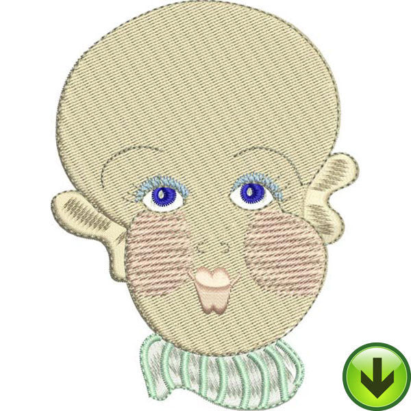 Baby Face 2 Embroidery Machine Design Collection