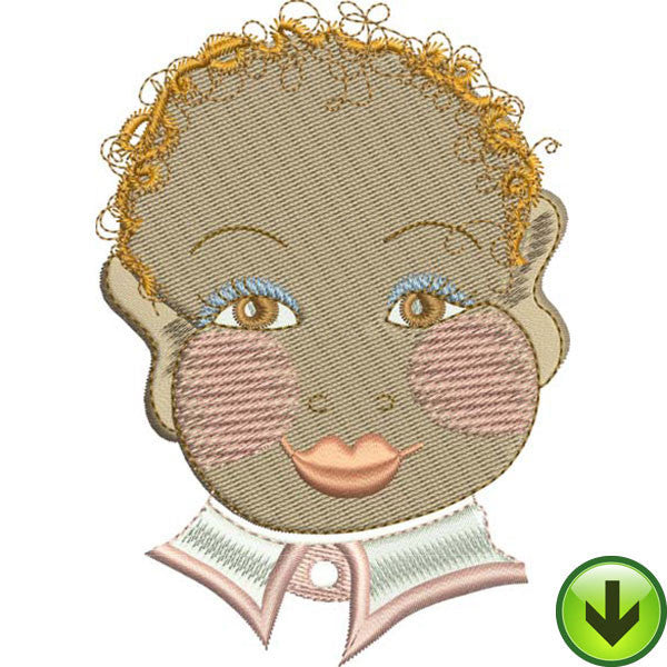 Baby Face 2 Machine Embroidery Collection | Download