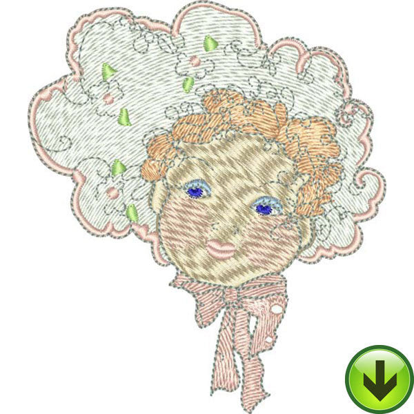 Angela Machine Embroidery Design | Download