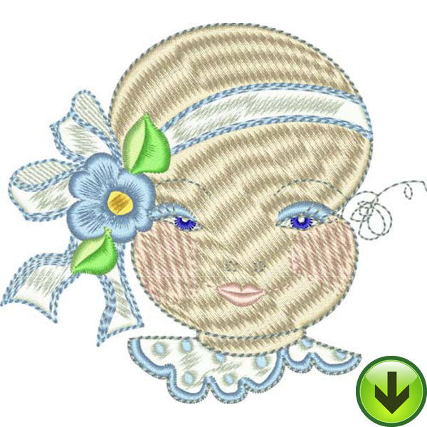 Clarissa Embroidery Design | DOWNLOAD