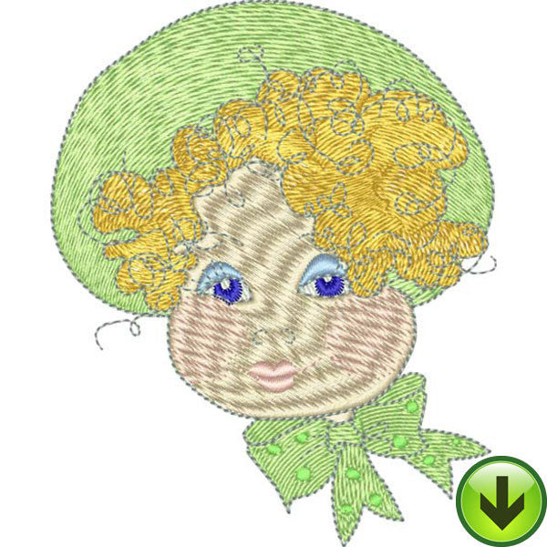 Dora Embroidery Design | DOWNLOAD