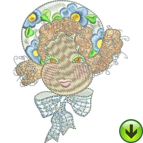 Lucy Embroidery Design | DOWNLOAD