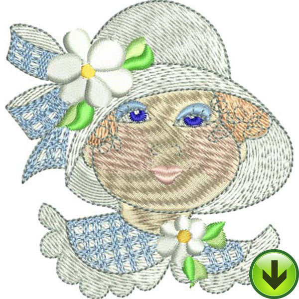 Nicole Embroidery Design | DOWNLOAD