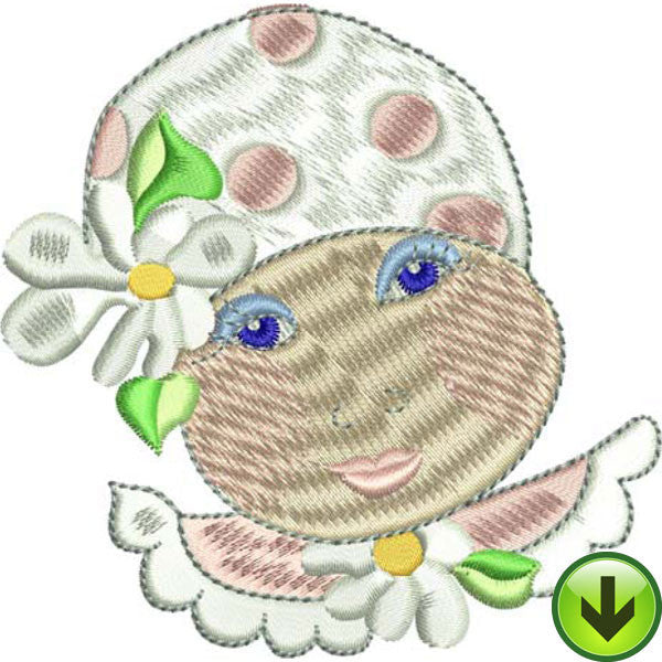 Baby Face 3 Machine Embroidery Collection | Download