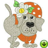 DogGone Fancy 1 Machine Embroidery Design Collection | Download